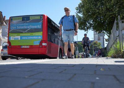 Orientierungs- und Mobilitätsschulung