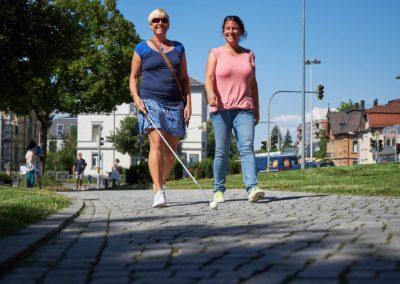 Schulung Blinde & Sehbehinderte